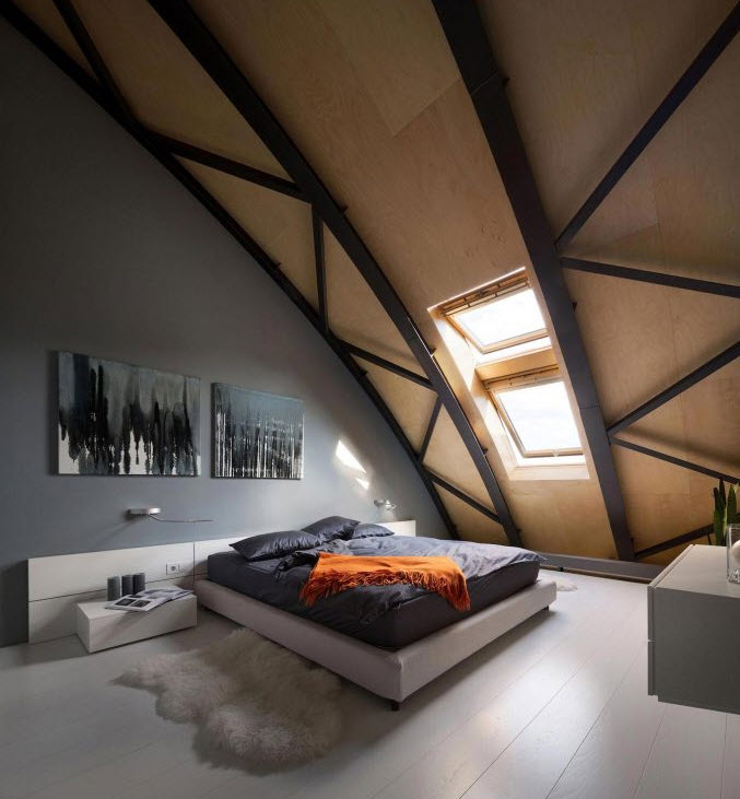 Moderno dormitorio