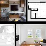 Modernos departamentos de un dormitorio