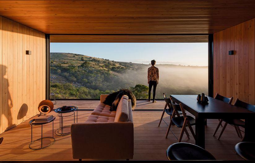 Modernos interiores de madera