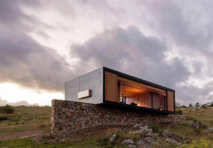 Planos y dise o interior de peque a casa de campo - Planos de casas pequenas de campo ...
