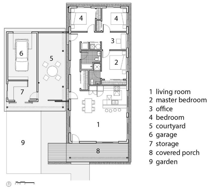 Dise o de casas autosustentables sistemas para construcciones pasivas planos de arquitectura for Planos de casas pequenas de una planta