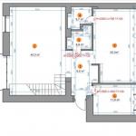 Plano del primer nivel del departamento