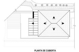 Planta de cubierta